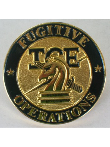 ICE FUGITIVE OPERATIONS LAPEL PIN
