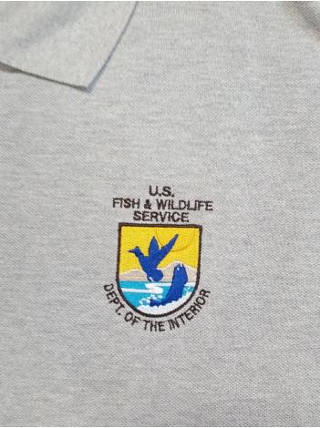 FWS, POLO SHIRT W/ FWS SEAL , 7992 K420