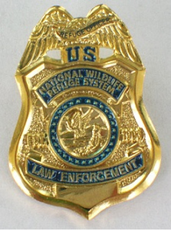 FWS LAW ENFORCEMENT LAPEL PIN