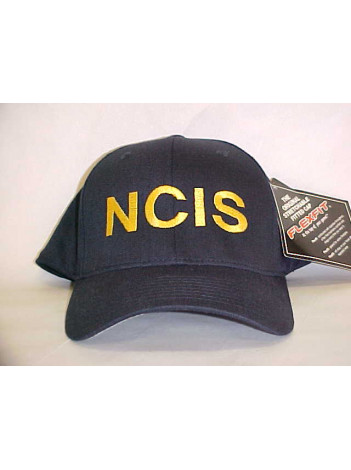 NCIS, FLEX FIT HAT WITH GOLD LETTERS