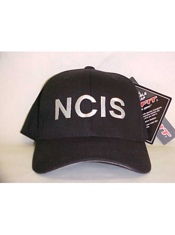 NCIS, FLEX FIT HAT WITH SILVER LETTERS