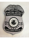 HSI TASK FORCE OFFICER PATCH SET