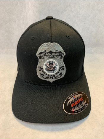 FLEX FIT HAT HSI GREY BADGE