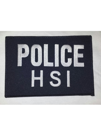 HSI  POLICE HSI SMALL VEST PATCH