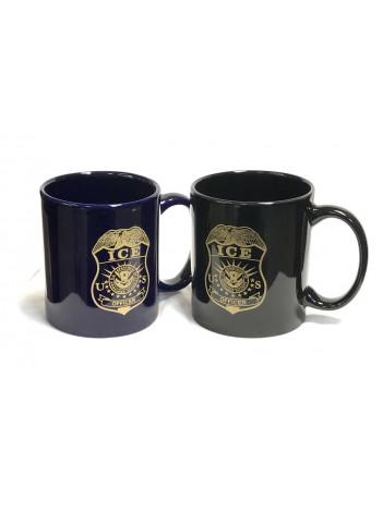 ICE, COFFEE MUG WITH OFFICER BADGE, 936132