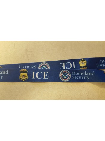 ICE LANYARD PRINTED WITH BUCKLE 8972