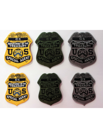 IRS CI BADGE PATCH