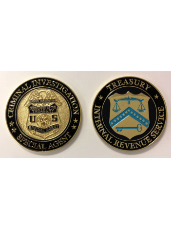 IRS CHALLENGE COIN