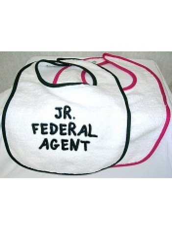 BIB WITH JR FEDERAL AGENT LETTERING