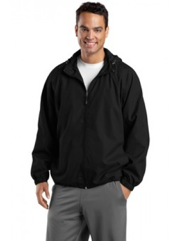 SPORT TEK HOODED RAGLAN JACKET , JST73