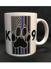 POLICE DOGS COFFEE MUG