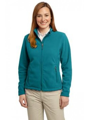FLEECE LADIES FULL ZIP JACKET WITH AGENCY LOGO, PORT AUTHORITY L217