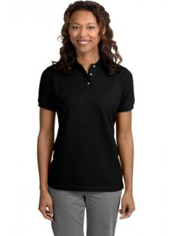 DHS, PORT AUTHORITY LADIES POLO  WITH DHS SEAL EMBROIDERED