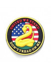 PVC MORALE PATCH DON'T TREAD 6794