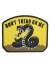 PVC MORALE PATCH YELLOW DON'T TREAD  6611