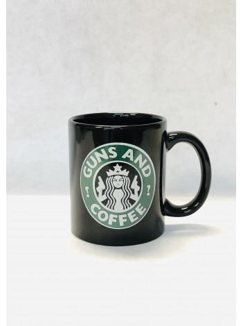 GUNS AND COFFEE, COFFEE MUG