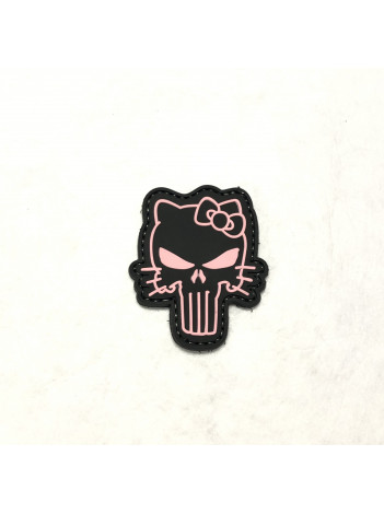 PVC MORALE PATCH 6721, TACTICAL KITTY