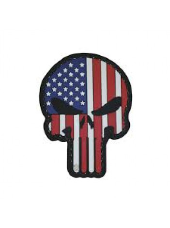 PVC MORALE PATCH PUNISHER PATRIOTIC 6720