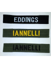 CUSTOM NAME TAG FOR BDU