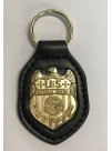 NCIS, LEATHER BACK KEY RING, 210046