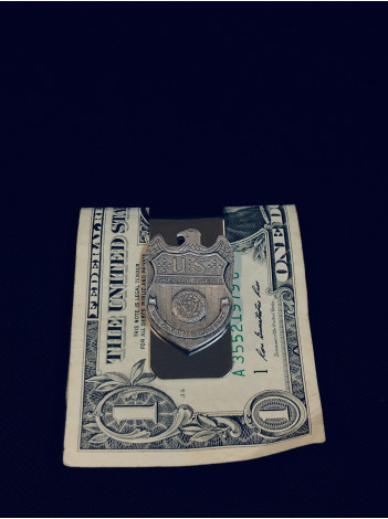 NCIS PEWTER MONEY CLIP