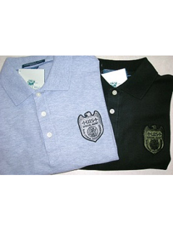 NCIS, POLO SHIRT WITH NCIS SPECIAL AGENT BADGE, K500
