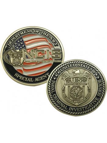 NCIS CHALLENGE COIN , 9000