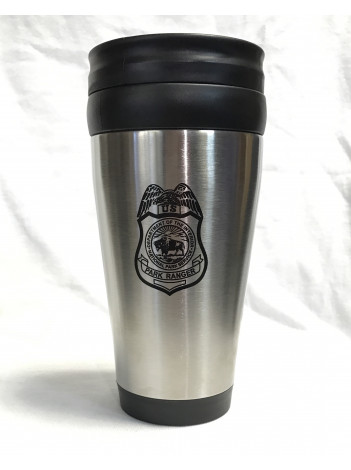 NPS INSULATED STAINLESS STEEL TRAVEL MUG 436