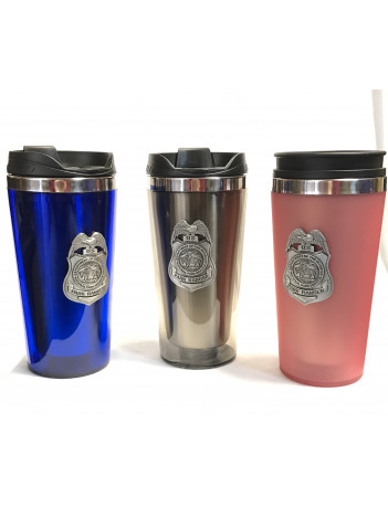 NPS INSULATED TUMBLER WITH PEWTER BADGE 234654