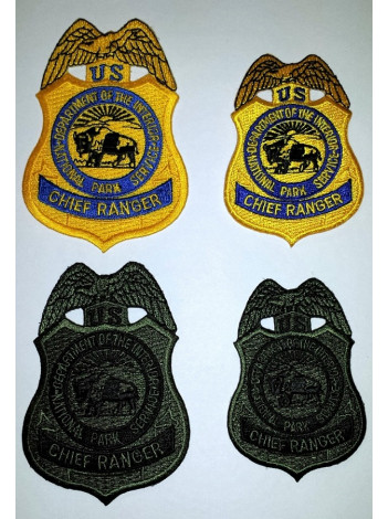 NPS CHIEF RANGER PATCH