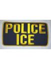POLICE ICE VEST PATCH
