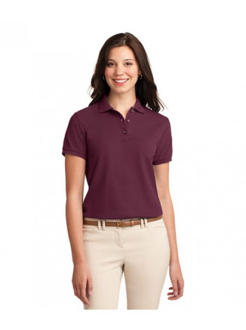 AGENCY POLO SHIRT , LADIES PORT AUTHORITY L500