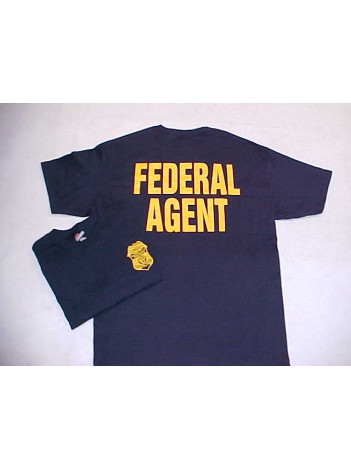 IRS-CID BADGE/FEDERAL AGENT T-SHIRT