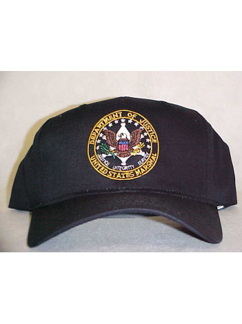 USMS, SEAL ON BASEBALL STYLE HAT