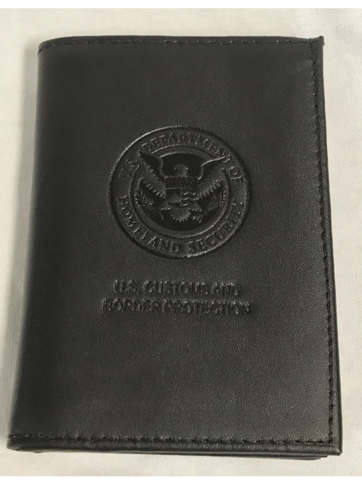 CBP BADGECASE WALLET DEBOSSED