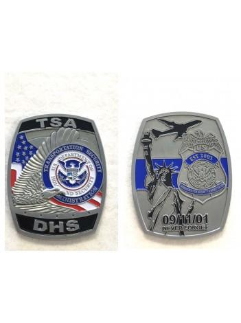 TSA-DHS CHALLENGE COIN