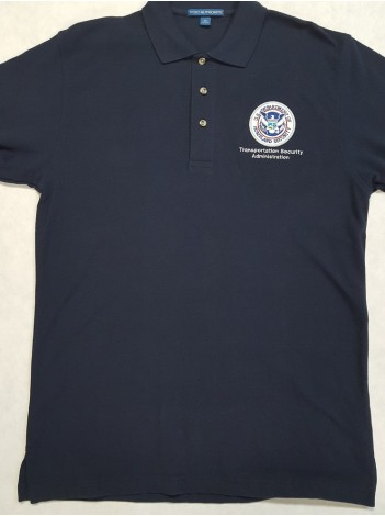 TSA POLO SHIRT WITH TSA-DHS SEAL K420
