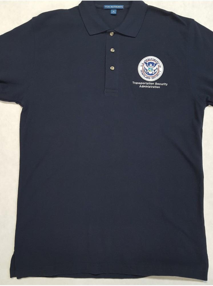 Tsa Polo Shirt With Tsa Dhs Seal K420