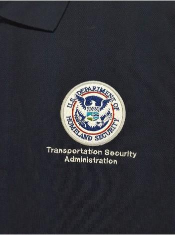 LADIES TSA-DHS SEAL PORT AUTHORITY POLO SHIRT L500