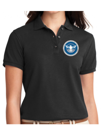NEW TSA SEAL, LADIES POLO SHIRT L500