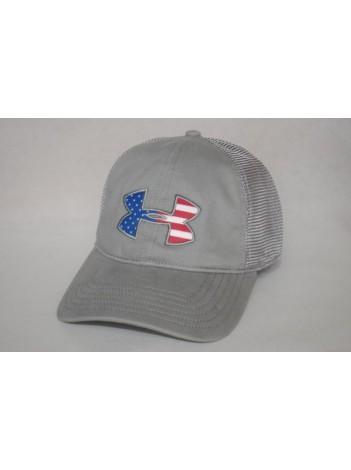 UA Big Flag Logo Mesh Cap