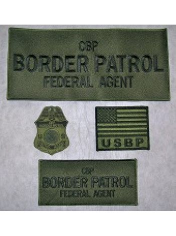 BORDER PATROL PATCH SET 3916