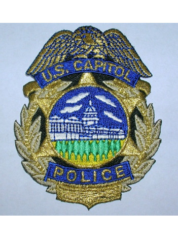 US CAPITOL POLICE BADGE PATCH