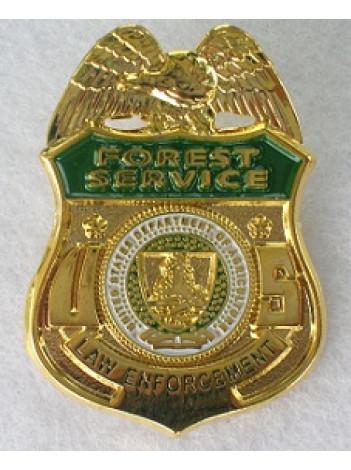 USFS LAW ENFORCEMENT TIE PIN / LAPEL PIN