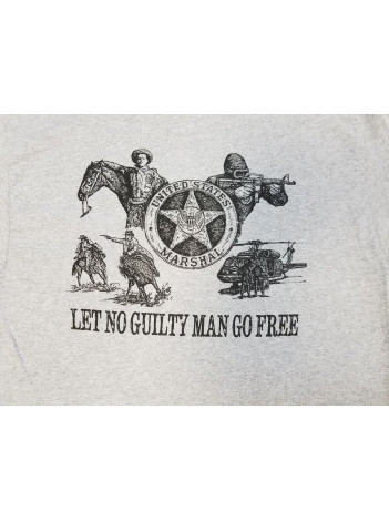T-SHIRT, LET NO GUILTY MAN GO FREE 126398