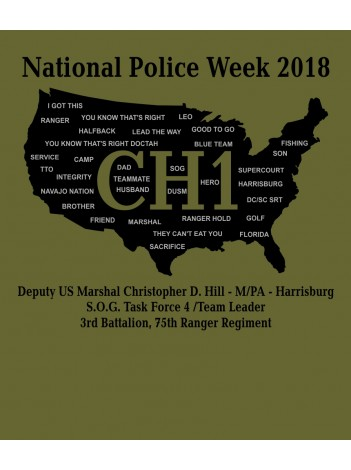 POLICE WEEK 2018 T-SHIRT