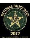 POLICE WEEK 2017 T-SHIRT