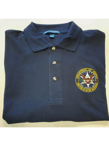 Usms Men 39 S Polo Shirt W Us Marshal Seal K 420