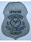 VA POLICE OFFICER BADGE PATCH