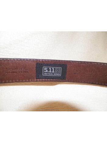 5.11 LEATHER CASUAL BELT 1.5""